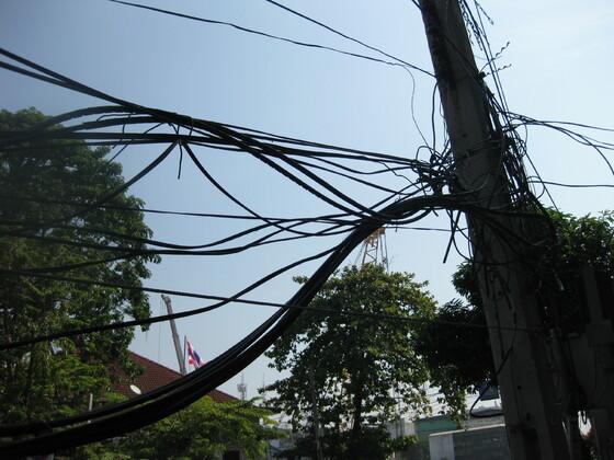 Bangkok Impressions - Moderne Elektrik