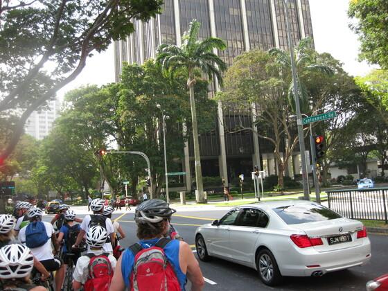 Singapur Impressions - Sonst keine Radfahrer in Singapur