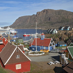 Sisimiut - Mit Aida aura in Grönland