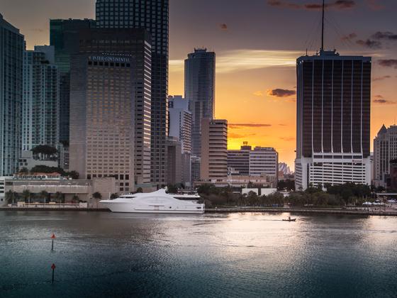 AIDAvita, Miami - sieht vieles spektakulär aus - trotzdem weiß ich heut noch nicht, ob mir die Stadt gefällt ;-)