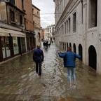 Venedig mal wieder unter Wasser