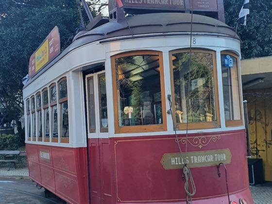 Lissabon elektro Tram