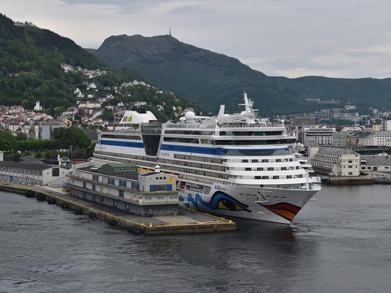 AIDAluna in Bergen