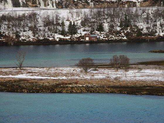 Auf dem Weg nach Tromsø