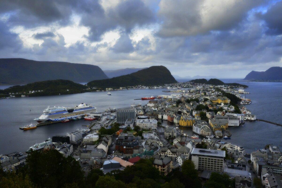 Alesund Norwegen Reise  17.bis 27.09.2018 Norwegen