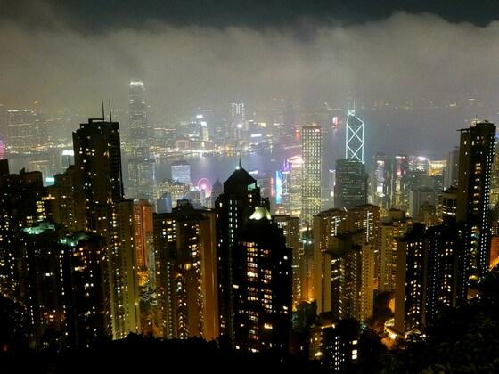 Hongkong - Der Blick vom Peak