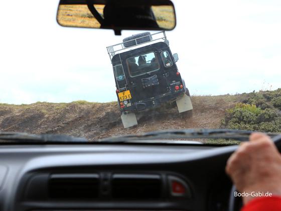 Fahrt zum Volunteer Point / Falklandinseln