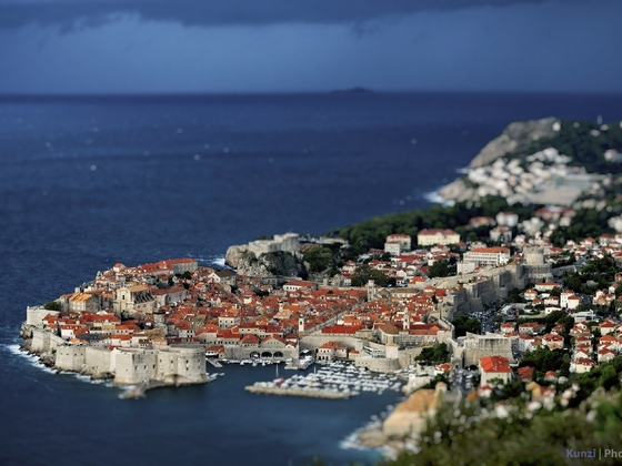 Dubrovnik a lá Miniateur
