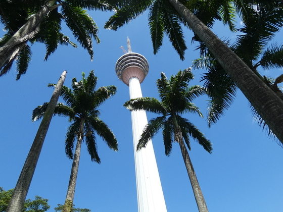 K.L. Tower (Fernsehturm) in Kuala Lumpur, Malaysia