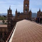 Auf dem Dach der Kathedrale