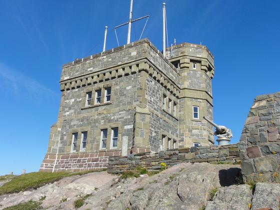 Signal Hill mit dem Cabot Tower