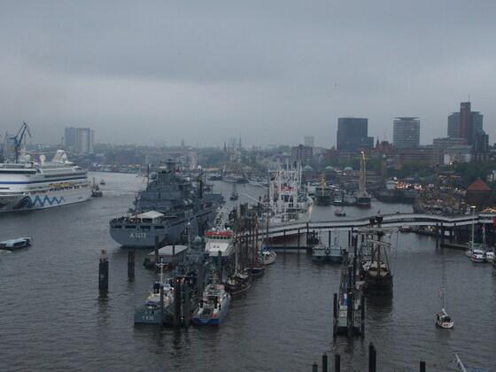 AIDAvita beim Hamburger Hafengeburtstag am 05.05.17