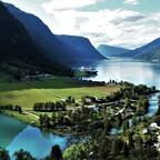 Skjolden - am Ende des Sognefjords