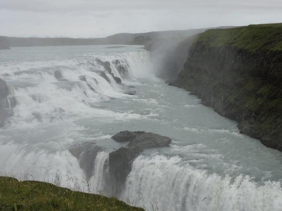 Gulfoss Wasserfall / Island