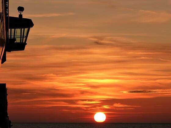 Sunset auf der Ostsee