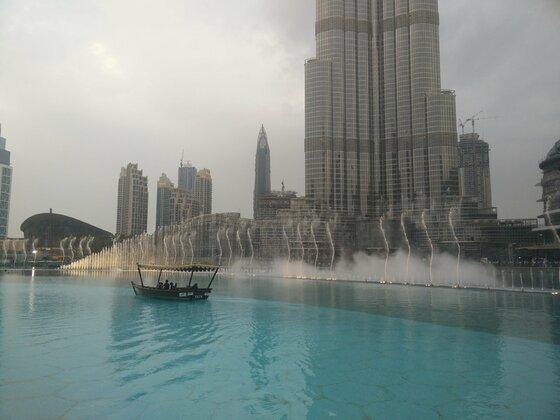 Wasserspiele Dubai