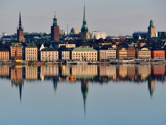 Stockholm morgens um 5 Uhr kurz vorm Auslaufen...