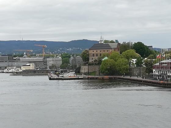 Festung im Hafen von Oslo