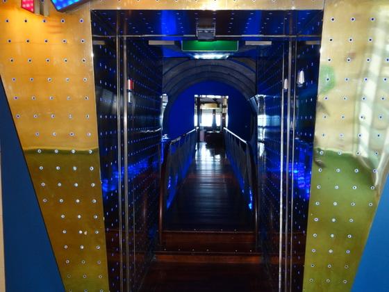 AIDAvita, Immer wieder schön - der Tunnel in eine andere Welt
