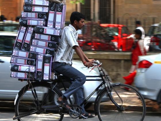 Datentransfer in Mumbai
