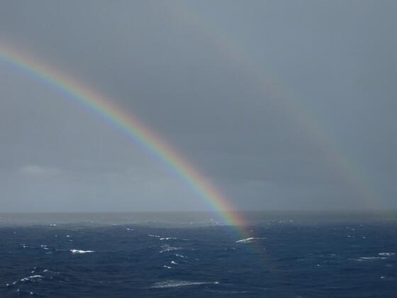 Karibische Momente - Doppelter Regenbogen