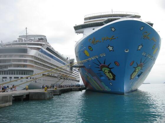 Karibische Momente - Tortola - die mar und die NCL Breakaway