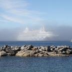 Aura im Nebel - Nuuk Grönland