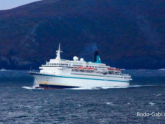 MS Albatros am Kap Hoorn