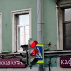 16_St.Petersburg - Ampel mit Sekundenanzeige