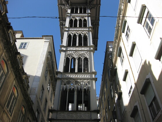 Lissabon Impressions - Einer der berühmten Aufzüge