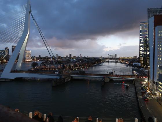 Guten Morgen Rotterdam und auf Wiedersehen (27.10.2017)