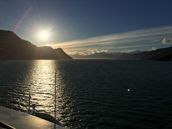 Mit der Norwegian Sun durch die Magellanstrasse in Chile