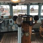 Brücke Royal Yacht Britannia