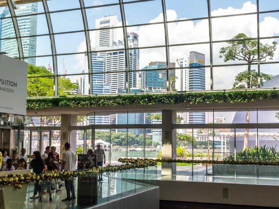 Singapur - Shoppes at Marina Bay Sands