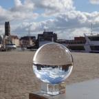 Alter Hafen Wismar im Lockdown