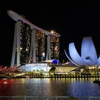 Unser Hotel on Singapore.