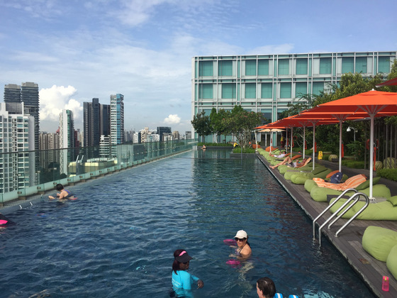 Hotel Jen Orchard Road Singapur Pool