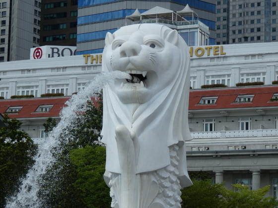 Merlion, Wahrzeichen Singapurs