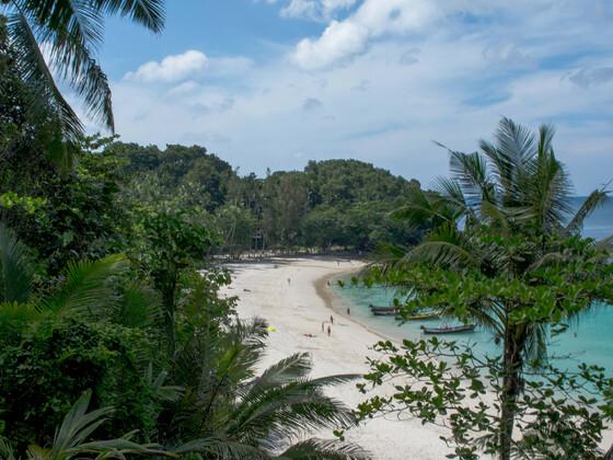 Freedom Beach von oben, Phuket Patong