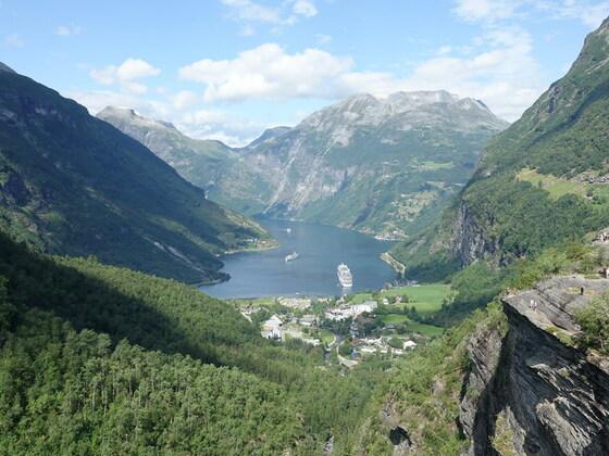 AIDAsol Geirangerfjord 22.07.18
