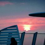 50_Rückfahrt nach Warnemünde - Der letzte Sonnenuntergang der Reise