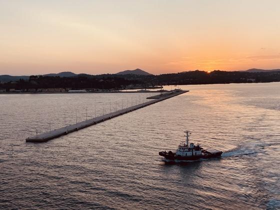 Ausfahrt Korfu - MS6 - September/Oktober 2020