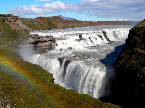 Zauberhaftes Nordland - der Gullfoss auf Island