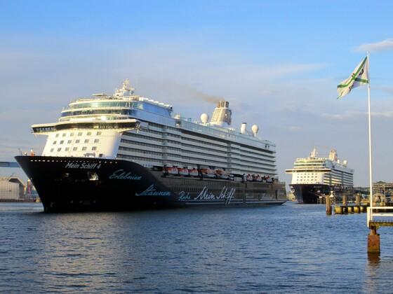 600 m Kreuzfahrtschiff