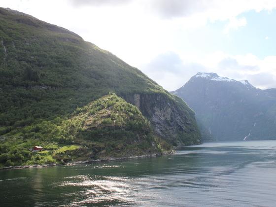 AIDAluna Geiranger Fjord Juni 2013
