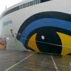 AIDAprima in Le Havre 2