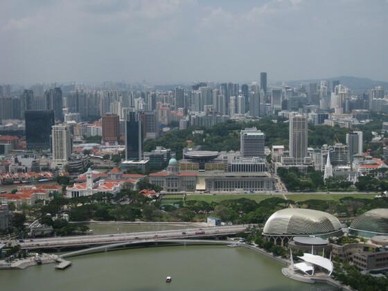 Singapur Impressions - Skyline