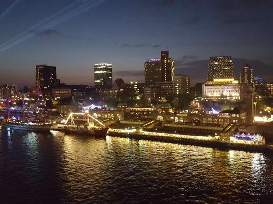 Hamburger Hafengeburtstag von Bord der Prima