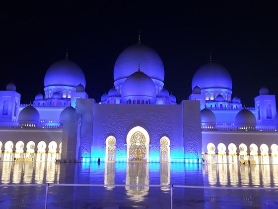 Sheik Zayed Moschee in Abu Dhabi