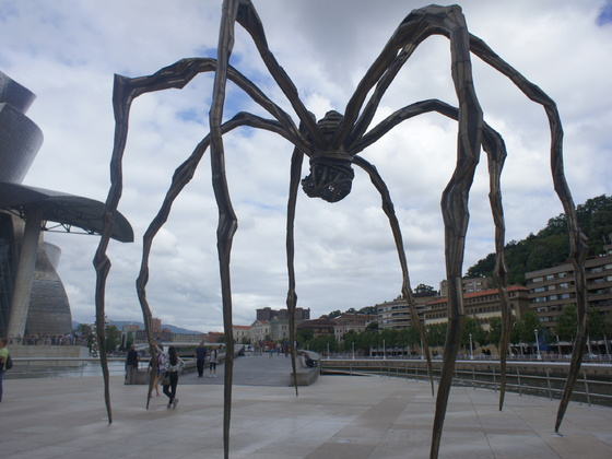Spinne in Bilbao